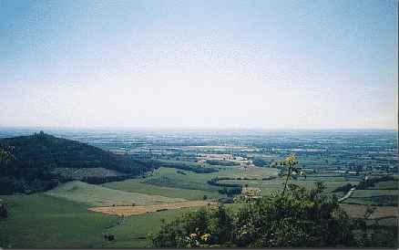 Vale of York from Sutton Bank
