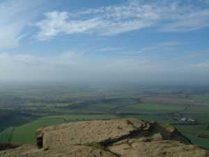 View from Roseberry Topping